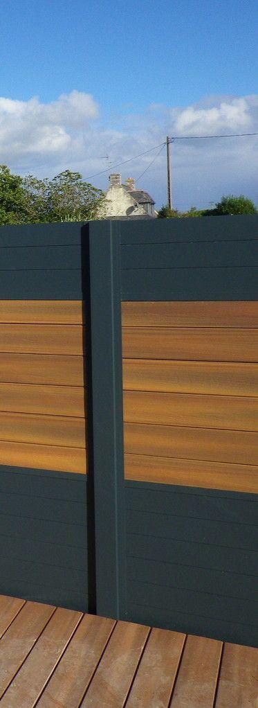 panneau jardin composite panneau composite sur pinterest planche composite panneau bois pas. Black Bedroom Furniture Sets. Home Design Ideas