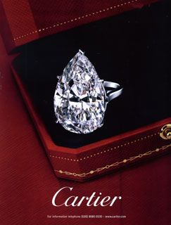Cartier - Diamond Ring~~ World meet my best friend~~ LOL Diamonds are a girls best friend!