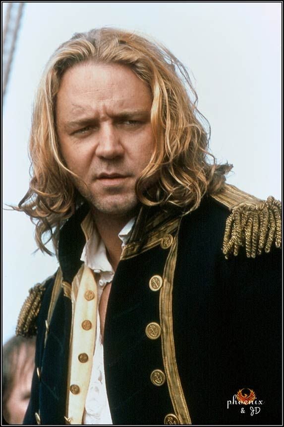 Russell Crowe as Captain Jack Aubrey