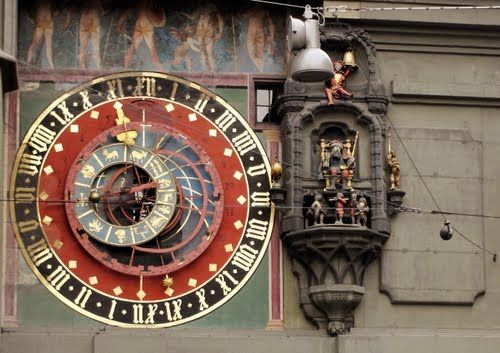 Clock tower, Bern, Zytglogge, Switzerland, Schweiz