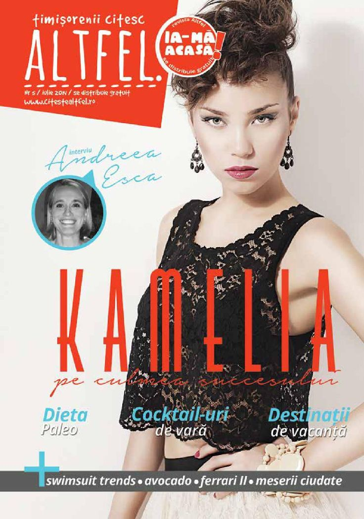 Revista Altfel July 2014 - Altfel magazine