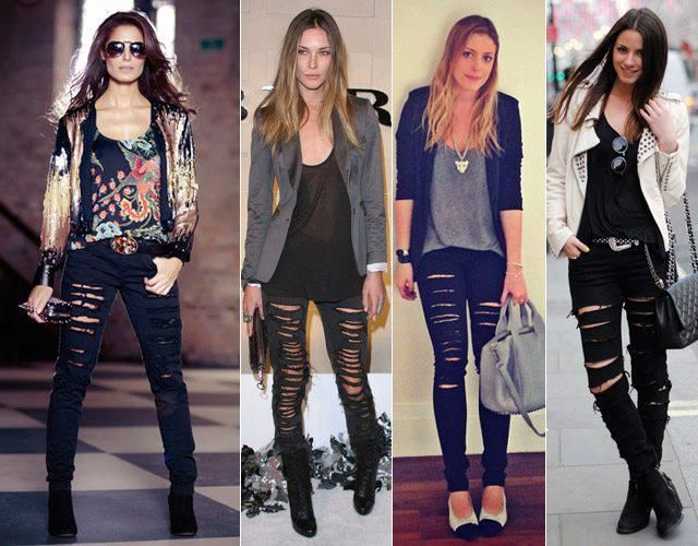 Destroied Jeans