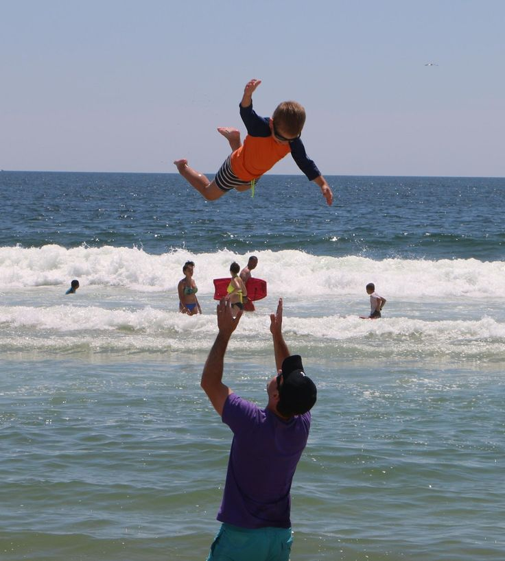 Kid Being Thrown In The Air