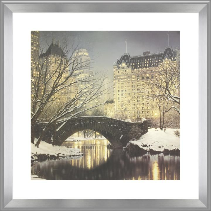New York Taxi Street City Canvas Wall Art Picture Print Va: 52 Best Images About Street & City Scenes / Framed On