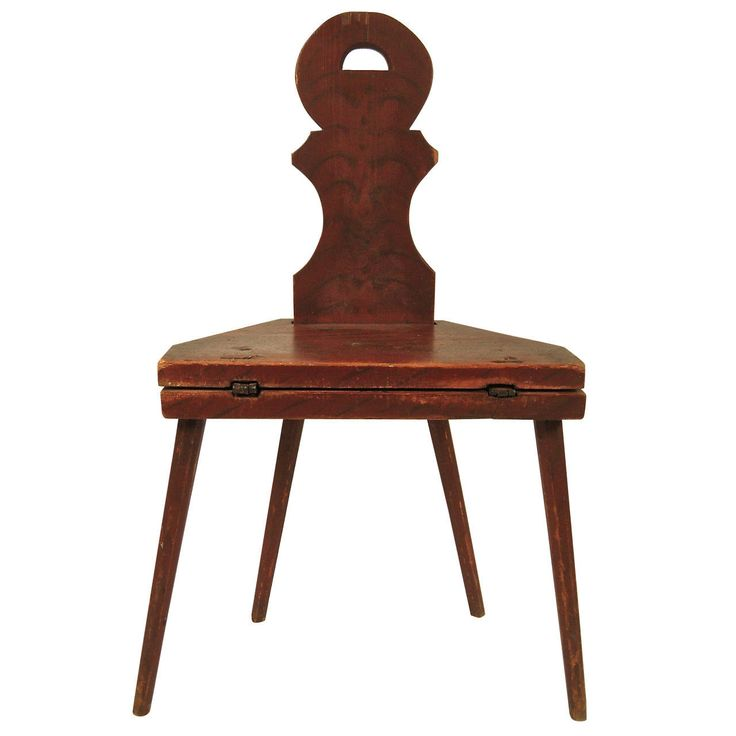 19th Century Scandinavian Folding Chair and Table | From a unique collection of antique and modern chairs at https://www.1stdibs.com/furniture/seating/chairs/