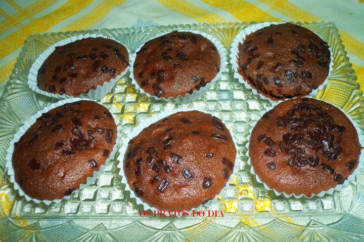 Receitas práticas de culinária: Queques de Nutella