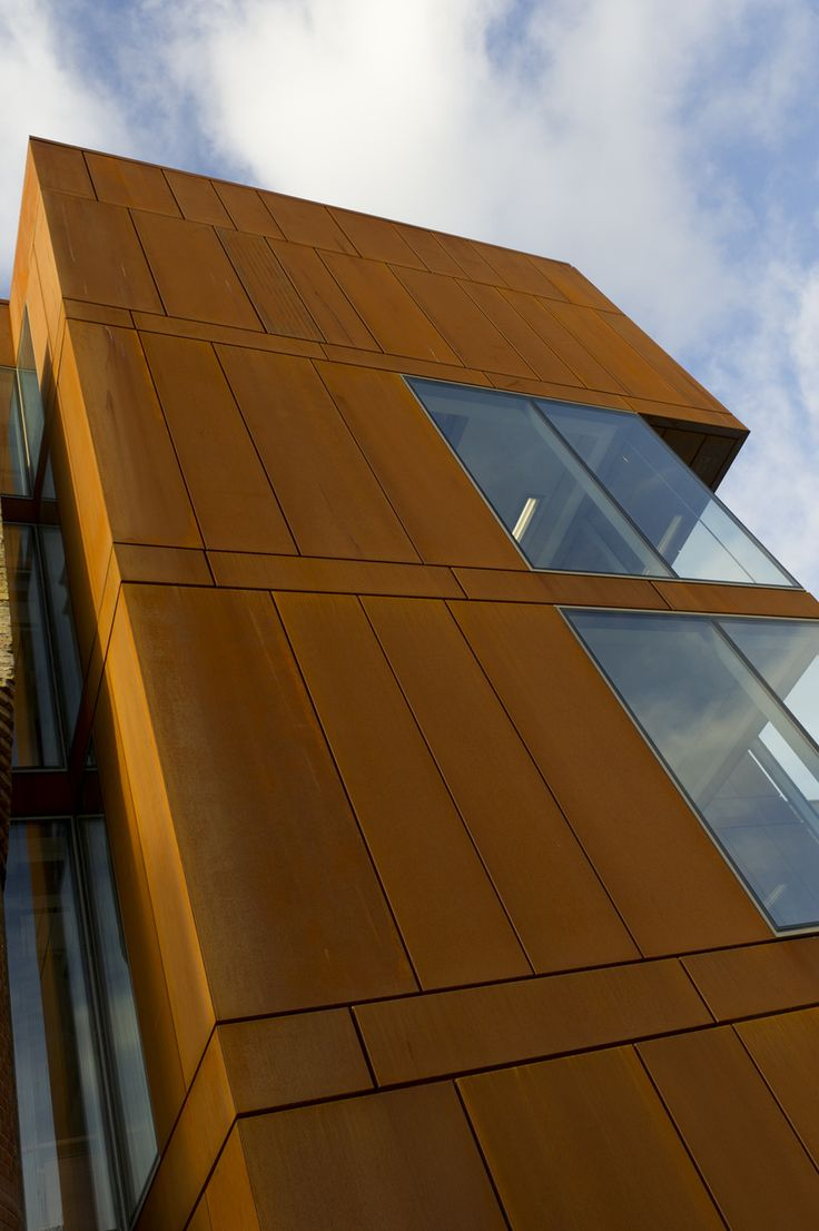 Residential | BENCHMARK by Kingspan | Karrier Engineered Facade System | Corten Steel|  Weathered Steel that naturally rusts | Wall | Facade