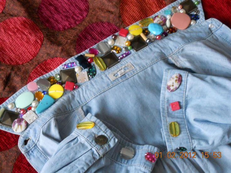 Kot gömlek süsleme örnekleri