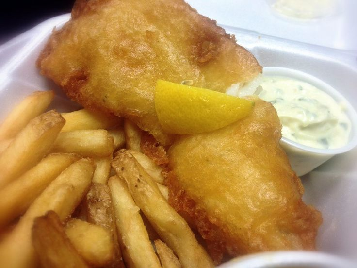 Fish and chips The Hub Café 80 King Street, main floor, Downtown St. Catharines https://www.facebook.com/Hubcafe80King