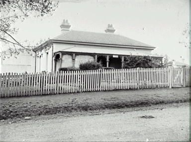 Campbelltown police station 1910, courtesy of CAHS, Tom Swann Collection