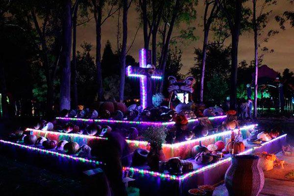 Festival de noche de muertos en Xochitla - En el Parque Ecológico de Xochitla podrás disfrutar de una Noche de Muertos mágica en este festival donde encontrarás ofrendas, talleres creativos, obras de teatro y podrás dar un paseo por el panteón.    Cuándo: Domingo 29 de octubre a partir de las 11:00 hrs.  Dónde: Carretera Circunvalación s/n, Tepotzotlán, México.  Los boletos se pueden comprar a través de Ticketmaster.  Xochitla.org.mx