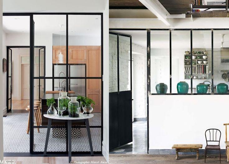 25 melhores ideias de cuisine couloir no pinterest for Cloison cuisine salon