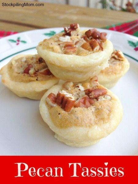 Delicious Bite Sized Desserts!: Pecans Recipes, Size Pecans, Pecans Teas, Deserts, Pecans Tassi