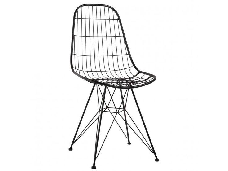 Krzesło Metalowe London max 120kg — Krzesła Ib Laursen — sfmeble.pl