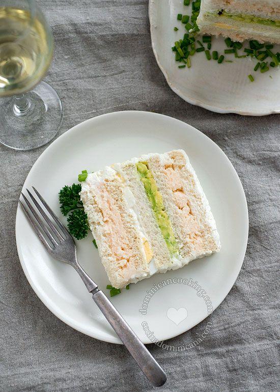 Sandwichon (Sandwich-Cake)
