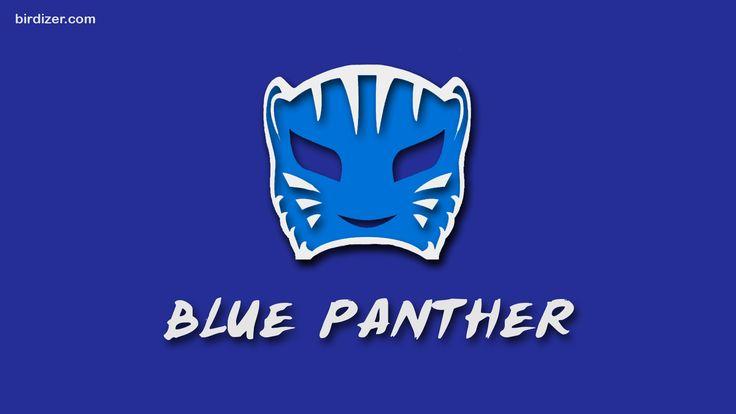 Blue Panther máscara wallpaper