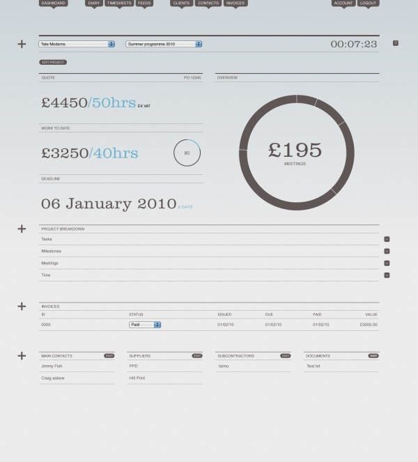 8 best Invoice design images on Pinterest | Invoice design, Branding ...