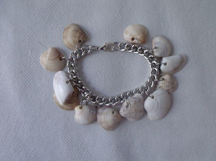 how to make a seashells bracelet diy - tutorial come fare un braccialetto con le conchiglie fai da te