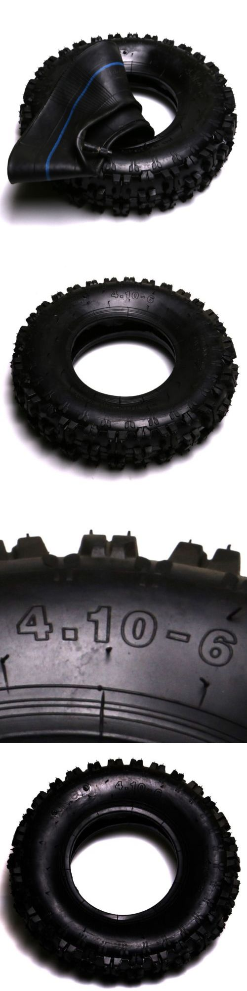 Parts and Accessories 64657: 4.10 -6 3.50 - 6 Tires And Tubes Go-Kart Cart Gokart Gocart Mini Bike -> BUY IT NOW ONLY: $30.99 on eBay!