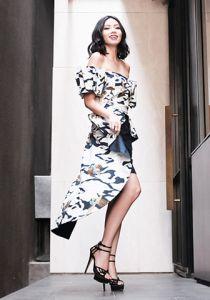 Batik Dress Asimetris Modern