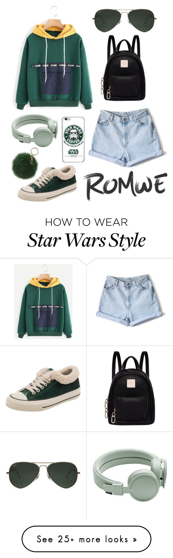 """Sin título #582"" by maria-milagro-malik on Polyvore featuring Fiorelli, Ray-Ban, Urbanears and Coccinelle"