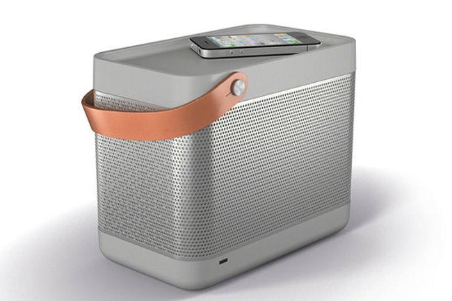 Bang and Olufsen New B Beolit 12 Portable iPhone Speaker (CES)