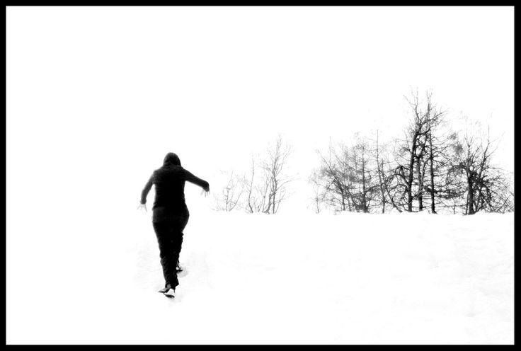 Perché chi ti vede soffrire è come se ti avesse visto nudo scorticato senza scarpe camminare in quella neve.