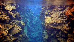 Fissure Snorkeling in Lake Silfra in Thingvellir National Park