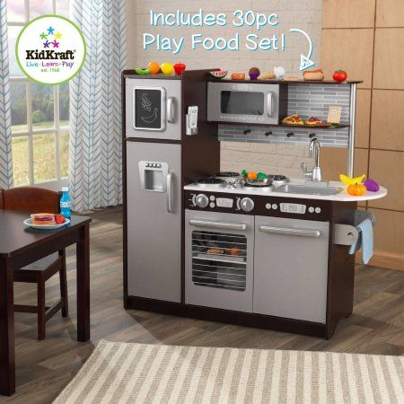 Modern Wooden Play Kitchen best 25+ kidkraft wooden kitchen ideas on pinterest | kidkraft