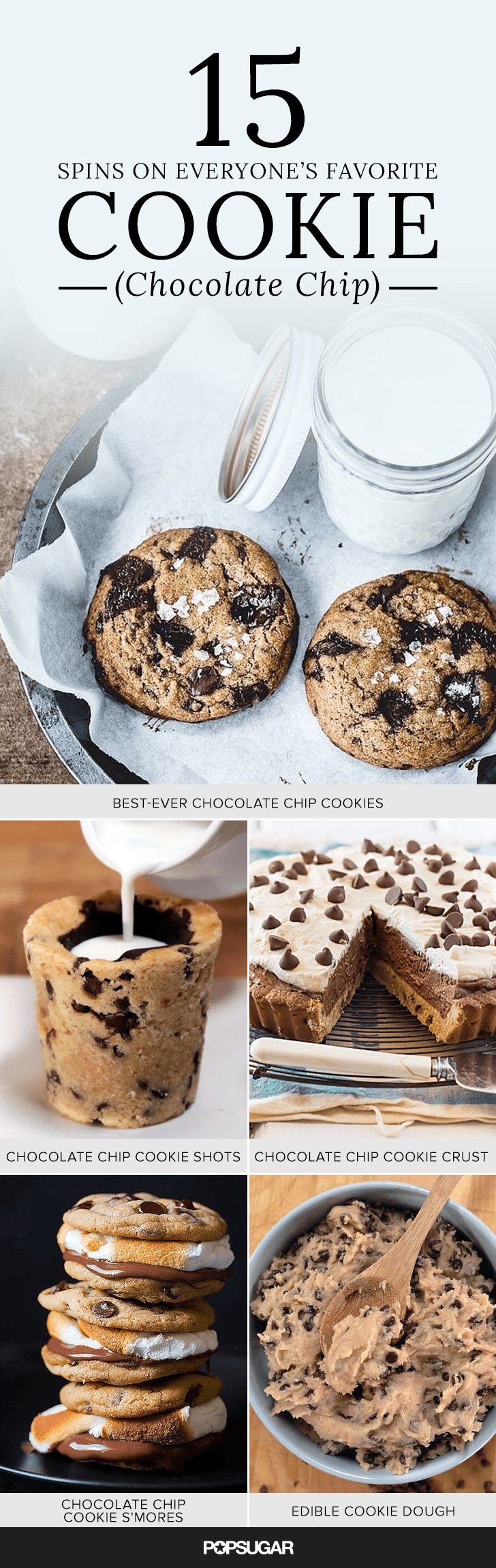 We've included a few classic, much-loved recipes, but if you're feeling in the mood for a riff, like chocolate chip cookie cake or even a guilt-free vegan cookie dough, then keep on clicking, because we've got you covered.