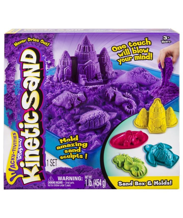 Buy Kinetic Sand Box Set at Argos.co.uk - Your Online Shop for Arts, crafts and creative toys, Sandpits and play tables.