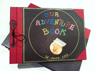 Our Adventure Book Photo Album and case
