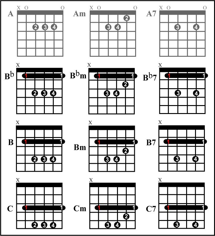 guitar - Best method to learn to play barre chords ...
