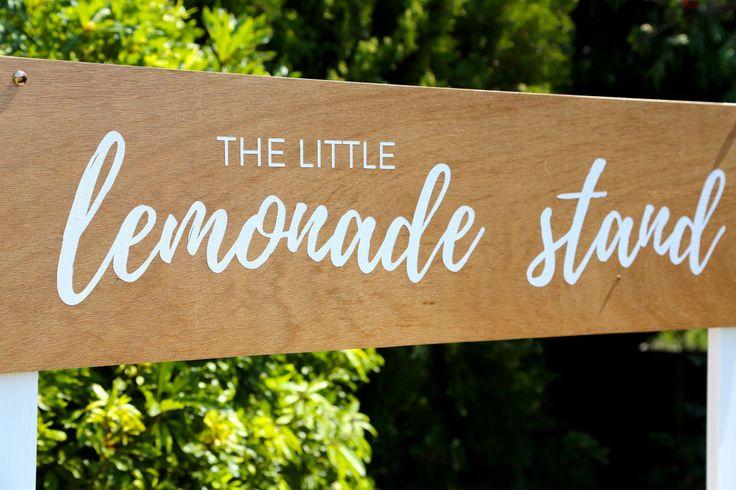 The Little Lemonade Stand