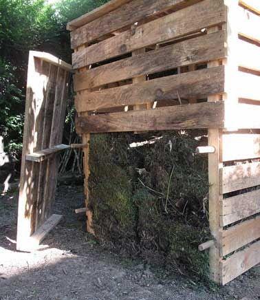 fabriquer composteur bois pour 3-m3 de composte