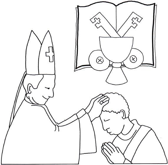 62 best the seven sacraments catholic images on pinterest ... - Coloring Pages Catholic Sacraments