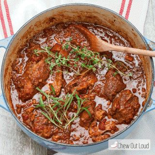 This Tender Stovetop Pork Ragu is rustic, simple, and supremely delicious. Everything is cooked in one big pot, to savory perfection. Everyone will want seconds of this fork-tender Pork Ragu.