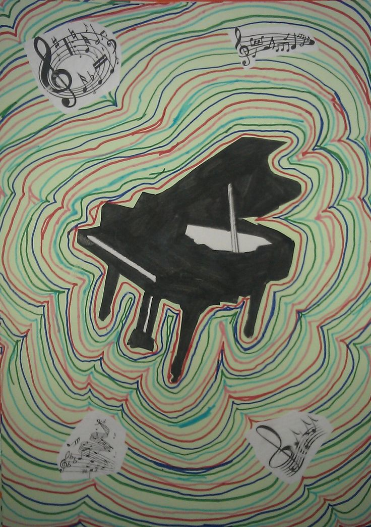 Les instruments de musique en arts visuels