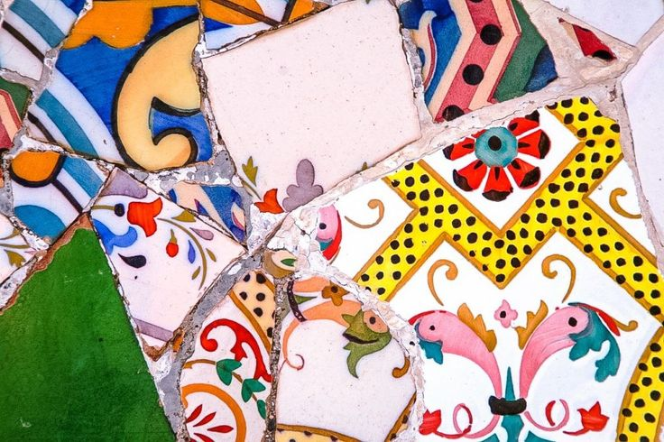 Gaudí mosaic