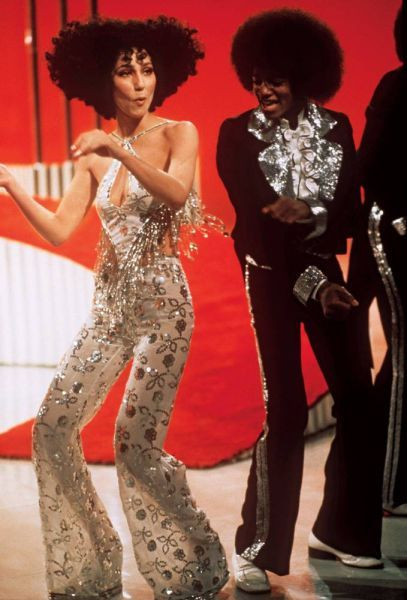 Cher & Michael Jackson.