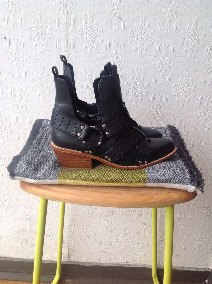Limited edition biker boots @jfahri