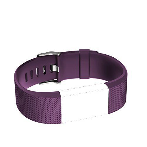 Band for Fitbit Charge 2 HR, Accessories Replacement Sport Fitness Band for Fitbit Charge 2 Heart Rate, Plum / Purple, Small - http://www.exercisejoy.com/band-for-fitbit-charge-2-hr-accessories-replacement-sport-fitness-band-for-fitbit-charge-2-heart-rate-plum-purple-small/fitness/