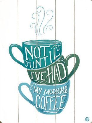 Morning Coffee Wall Decor