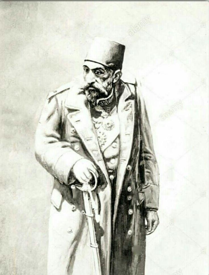 Sultanımız Abdülhamit Han ın İngiliz arşivlerinde bulunan nadir bir resmi