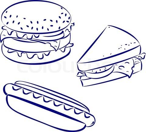 Hot Dog Hamburger Rhythm