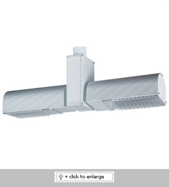 Double-Headed Wall Washer with Louver    Aluminum Construction   Includes 2 Clear Acrylic Removable Louvers   Includes Electronic, Rapid Start, High-Power Factor Ballast   Vertical Adjustment: 120°, Rotation: 350°    Input Voltage: 120V, Output Voltage: 12V  Bulb: PLT (2) Triple Tube GX24Q-3    Max Wattage: 26W (2)  Regular price: $334.99  Sale price: $241.50