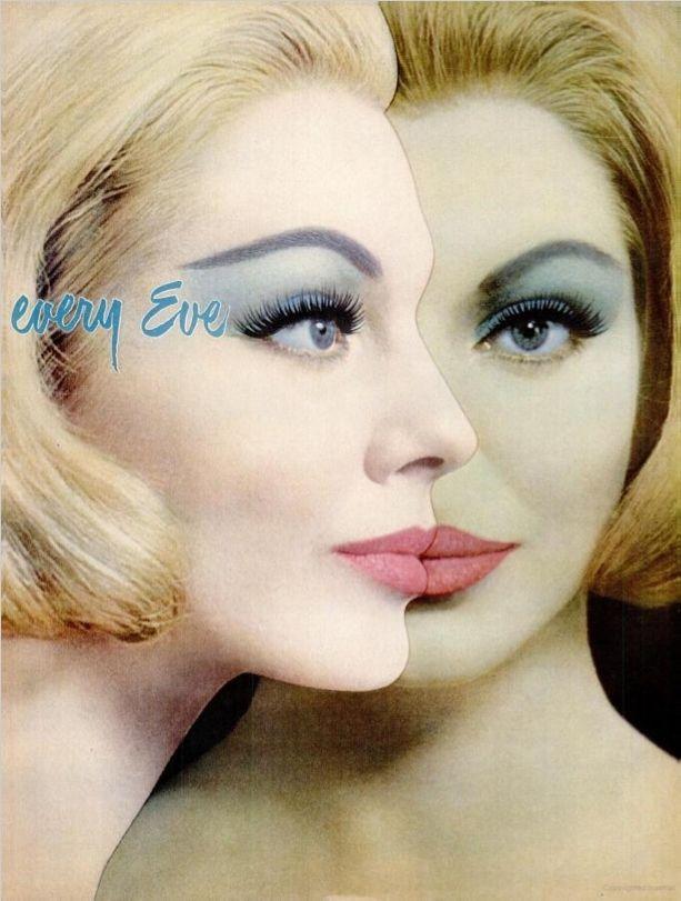 Maybelline eye makeup, c. early 60s. | Vintage Advertising ...