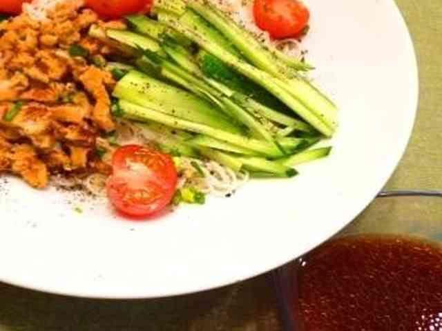 冷やしみそだれ中華麺の画像