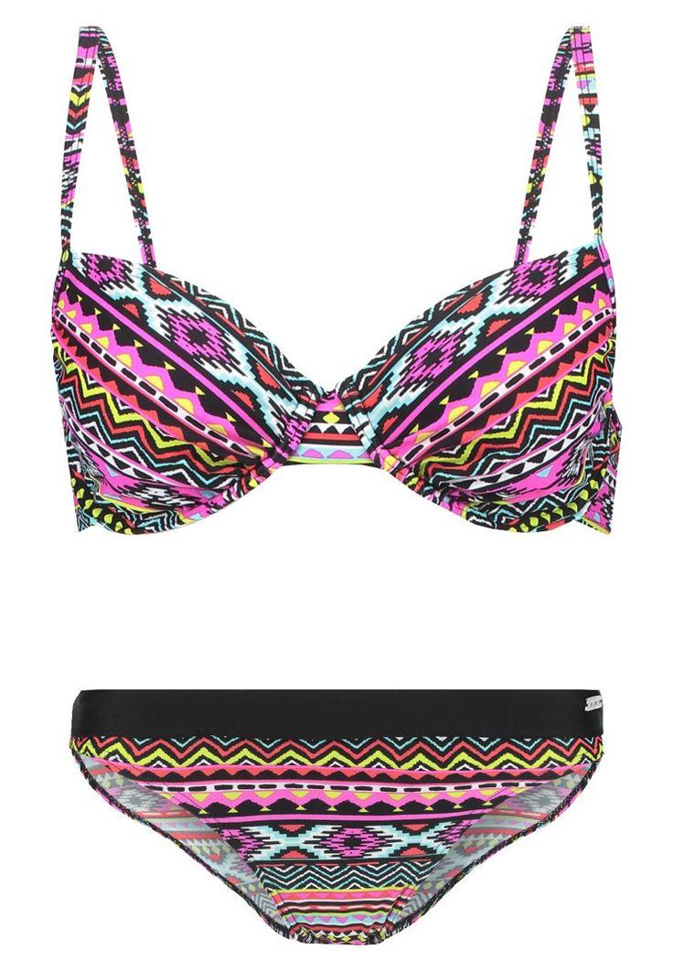 LASCANA Bikini multicoloured Bekleidung bei Zalando.de   Material Oberstoff: 80% Polyamid, 20% Elasthan   Bekleidung jetzt versandkostenfrei bei Zalando.de bestellen!