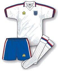 England home kit for 1974-80.
